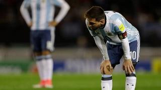 Argentinien patzt beim Schlusslicht