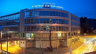 Aargauer Hightech-Zentrum ist auf Kurs