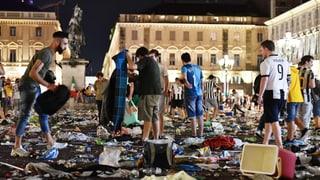 Fin a 1'000 blessads durant public viewing a Turin