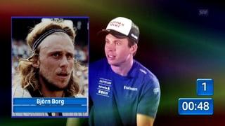 Was spielte Björn Borg schon wieder, Gino Caviezel? (Artikel enthält Video)