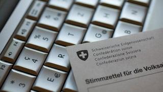 Nagin e-voting per il Grischun