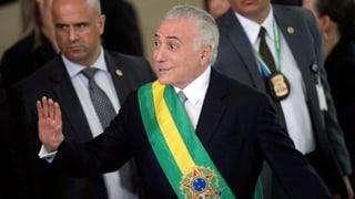 Brasiliens Ex-Präsident Temer verhaftet