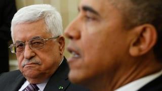 Obama ermutigt Abbas zu Risiken für den Frieden