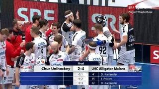 Alligator Malans en il mezfinal dals playoffs