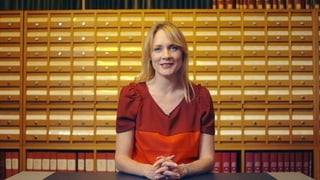 Video «Die Zukunft des Buches – mit Eva Wannenmacher » abspielen