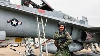 Video «Ein Schweizer auf dem Flugzeugträger» abspielen