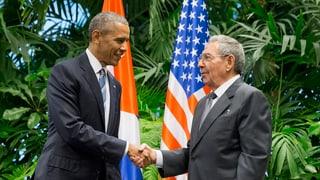 Cuba – Obama inscuntra Raul Castro