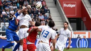 So liefen die Partien GC - St. Gallen und Thun - Zürich