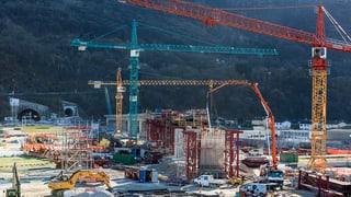 Ceneri-Basistunnel kommt wohl später – und kostet mehr