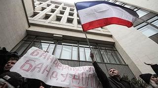 Ukraine: Proteste haben die Krim erreicht