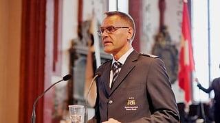 Polizeikommandant Gerhard Lips geht - ein «schwerer Schritt»