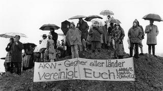 AKW-Abstimmungen: Ein Ja und sechs Nein seit 1979