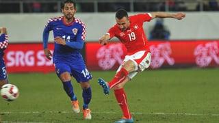 Schweiz und Kroatien trennen sich 2:2