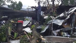 Zyklon fordert erstes Todesopfer