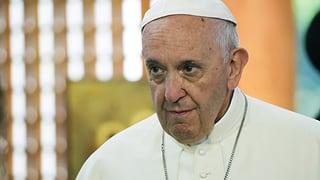 Der Papst gibt sich überraschend unkonkret