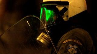 Basler Polizei schützt sich gegen Laserpointer