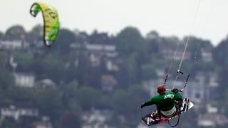 Regierung will am Kitesurf-Verbot auf dem Hallwilersee festhalten