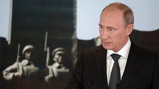 Putin skizziert seinen Weg aus der Krise