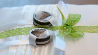 Kaputte Eheringe: Symbol der Liebe sorgt für Ärger