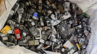 Was passiert mit den Handys, die im Recycling landen?