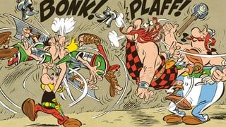 Bleras grevas blessuras, ma nagins morts en ils comics d' Asterix