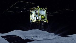 Japanische Raumsonde landet auf Asteroiden (Artikel enthält Video)