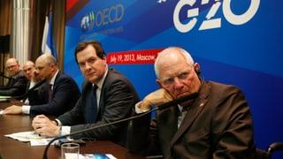 Schweiz begrüsst Aktionsplan gegen Steuerflucht