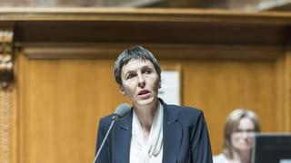 Barbara Gysi möchte oberste Gewerkschafterin werden