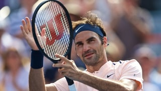 Roger Federer a Montreal en il mezfinal