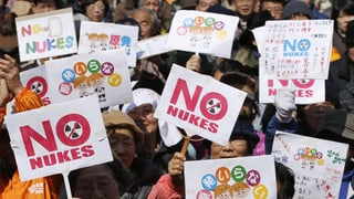 Anti-Atomkraftproteste in Japan