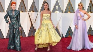 Die optischen Highlights und Tiefpunkte auf dem Oscar-Teppich