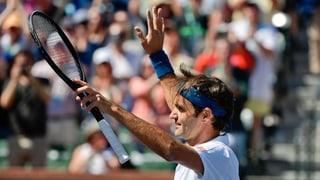 Federer cunter Nadal