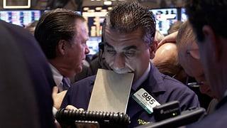 Nervöse Börsianer in den USA