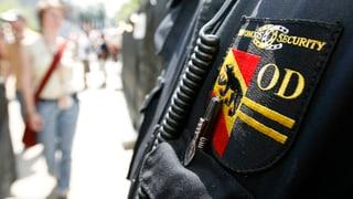Private Sicherheitsdienste boomen