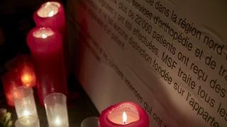 Kundus: Ärzte ohne Grenzen fordert unabhängige Untersuchung