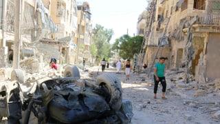 Hilfsorganisationen fordern Ende des Blutbads in Aleppo