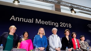 WEF-Präsident Schwab möchte Frauenanteil von 50 Prozent erreichen