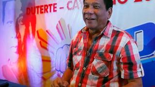 Duterte feiert sich als neuen philippinischen Präsidenten