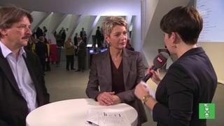 SG: Keller-Sutter bestätigt - zweiter Wahlgang für Rechsteiner