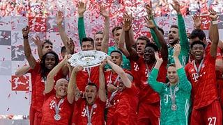 Bayern zum 29. Mal Deutscher Meister