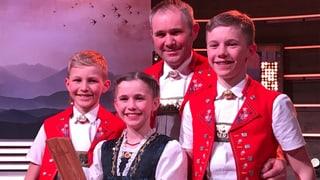 «Viva Nachwuchspreis» für die Striichmusig Dobler (Artikel enthält Video)