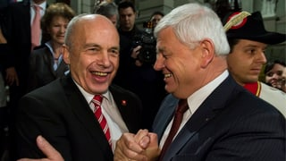 Maurer: «Bundespräsident zu sein ist eine Alterserscheinung»