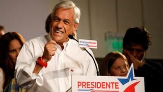 Piñera muss in einen zweiten Wahlgang