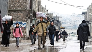 Zehntausende flüchten aus Al-Schadadi