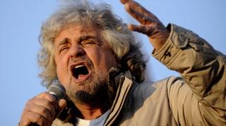 Italiener laufen Grillo davon
