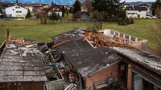 Sturm richtet im St. Galler Rheintal grossen Schaden an