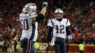 Dramatik pur: Patriots und Rams erreichen Super Bowl