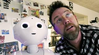 Roboter «Pepper»: dumm, aber niedlich