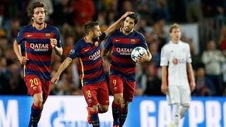 So kam Barcelona zum Last-Minute-Sieg in der 2. CL-Runde