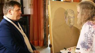 «Jetzt mal den Mund halten»: Beltracchi malt Hape Kerkeling